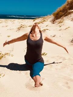 Sarah Powers beach